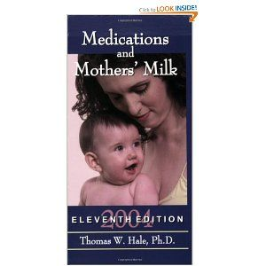 medications and mothers milk a manual of lactational pharmacology