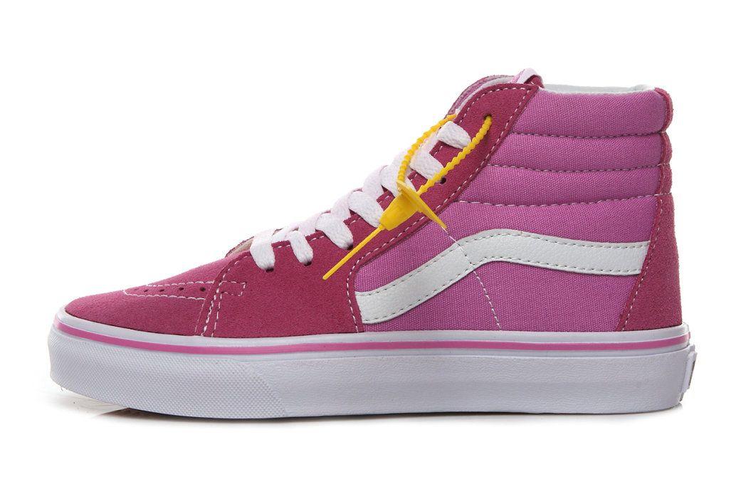 0a93aaf1dbd5ec Retailmenot Coupon Custom Vans Classic Sk8 Hi Rose Suede Canvas AB58 Skate  Shoe Vans For  Vans