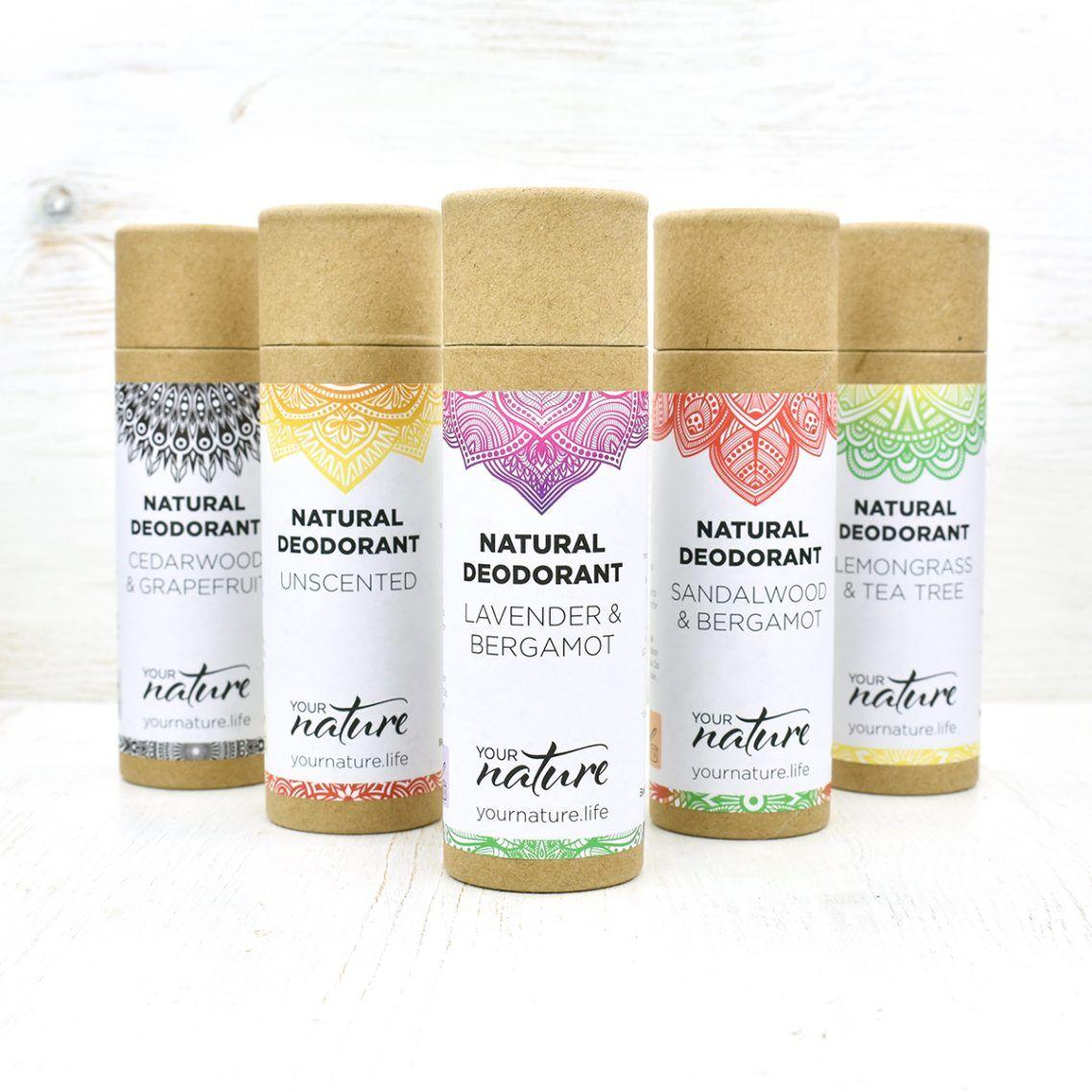 Natural Deodorant Stick Lemongrass & Tea Tree 70g Your