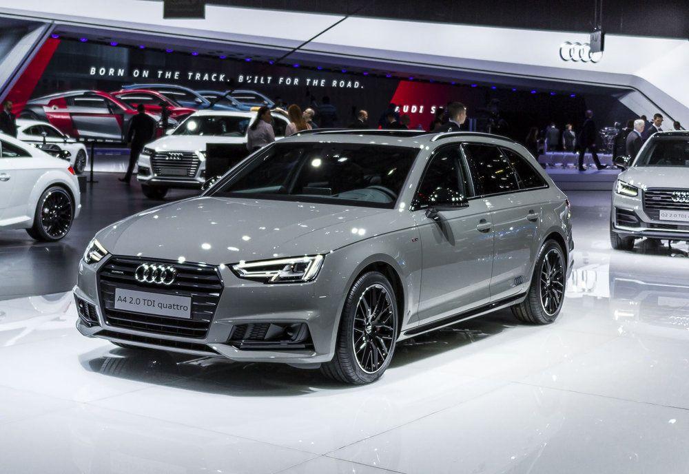 Audi Reveals Black Edition A4 Saloon And Avant Models New Car Net Audi Audi A4 Black Audi A4 Avant