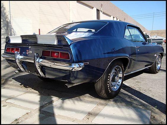 1969 Chevrolet Camaro Z28 | F56 | Monterey 2013 | Mecum Auctions