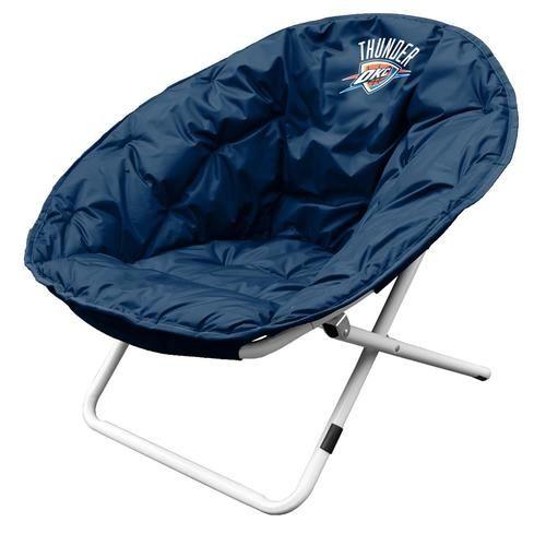 Oklahoma City Thunder Sphere Folding Papasan Chair