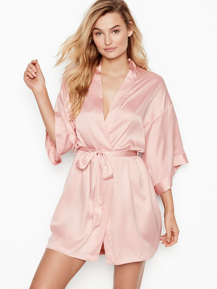 273b48654 Short Satin Kimono - Very Sexy - Victoria's Secret | AAA ...