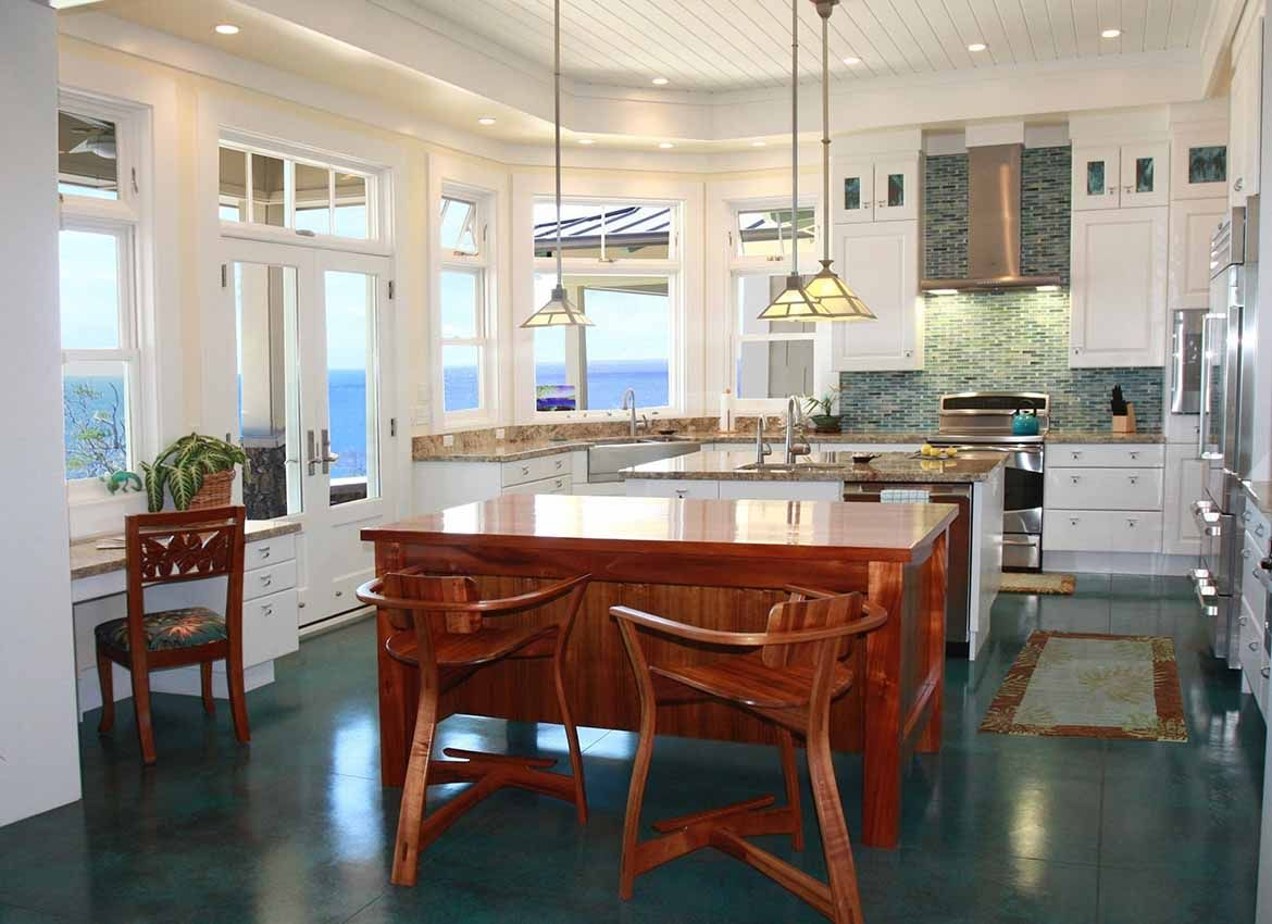 Hawaiian Bungalow  A Residential Project Hawaii House Mesmerizing Kitchen Design Hawaii Design Ideas