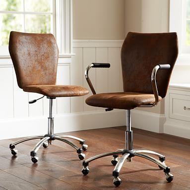 Trailblazer Airgo Swivel Desk Chair Wooden Office Chair World