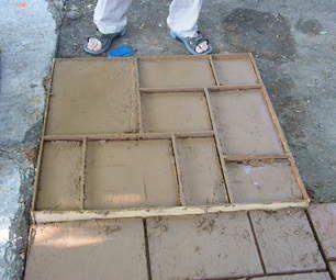 Form Removal Diy Concrete Patio, Concrete Pavers, Diy Patio, Backyard Patio,  Concrete