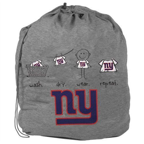 NFL New York Giants Team Laundry Bag by Forever Collectibles. $9.95. Collectible. Officially Licensed. 100% POLYESTER. New York Giants. Forever Collectibles offers a full line of 100 per officially licensed team merchandise. We offer a complete line of home decor, garden decor, novelty, apparel, tech accessories and seasonal items.