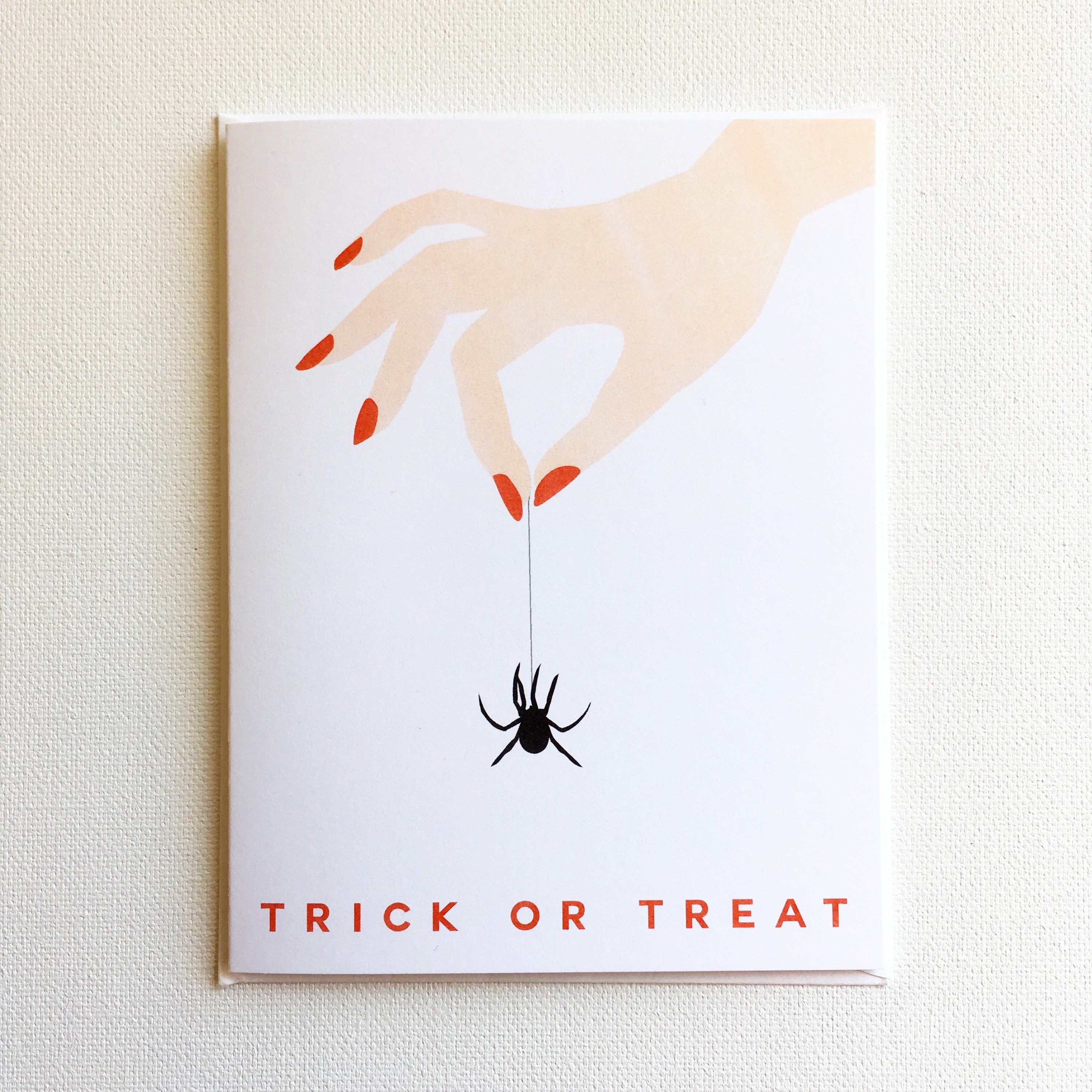 Illustrated Greeting Cards By Heartthrob Studio For Halloween