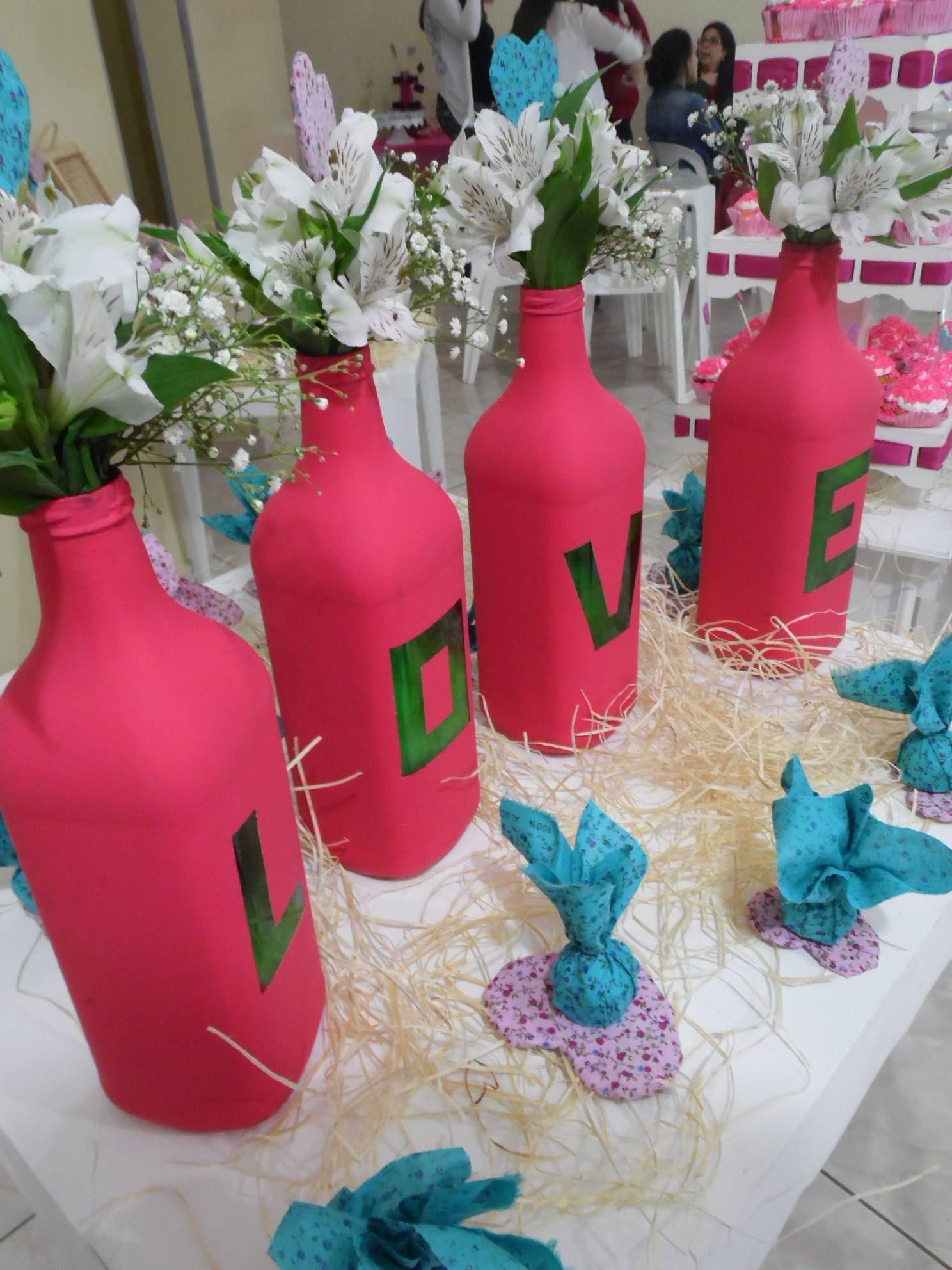 Chá da Vanessa   Chá de cozinha rosa e azul   Escolhi dizer Sim ...