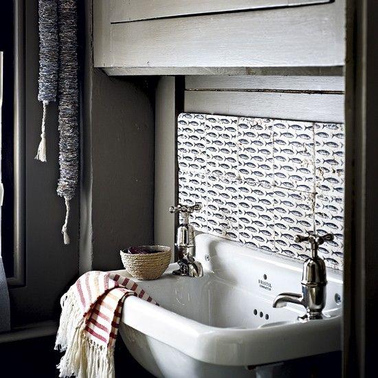 Rustic utility room sink Utility room sinks Laundry room design
