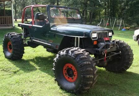 BIG BLOCK JEEP YJ - Google Search