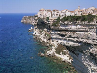 France - Bonifacio, Corsica, Mediterranean