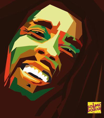 Bob Marley In Pop Art On Behance Pop Art Bob Marley Art