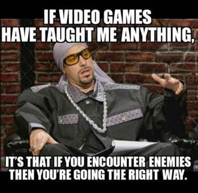Motivation From Video Games Best Quotes Funny Memes Humor