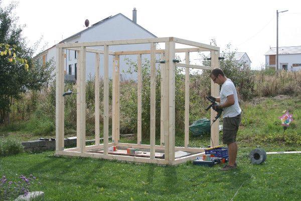 DIY Gartenhütte Gartenhütte, Holzhaus garten und