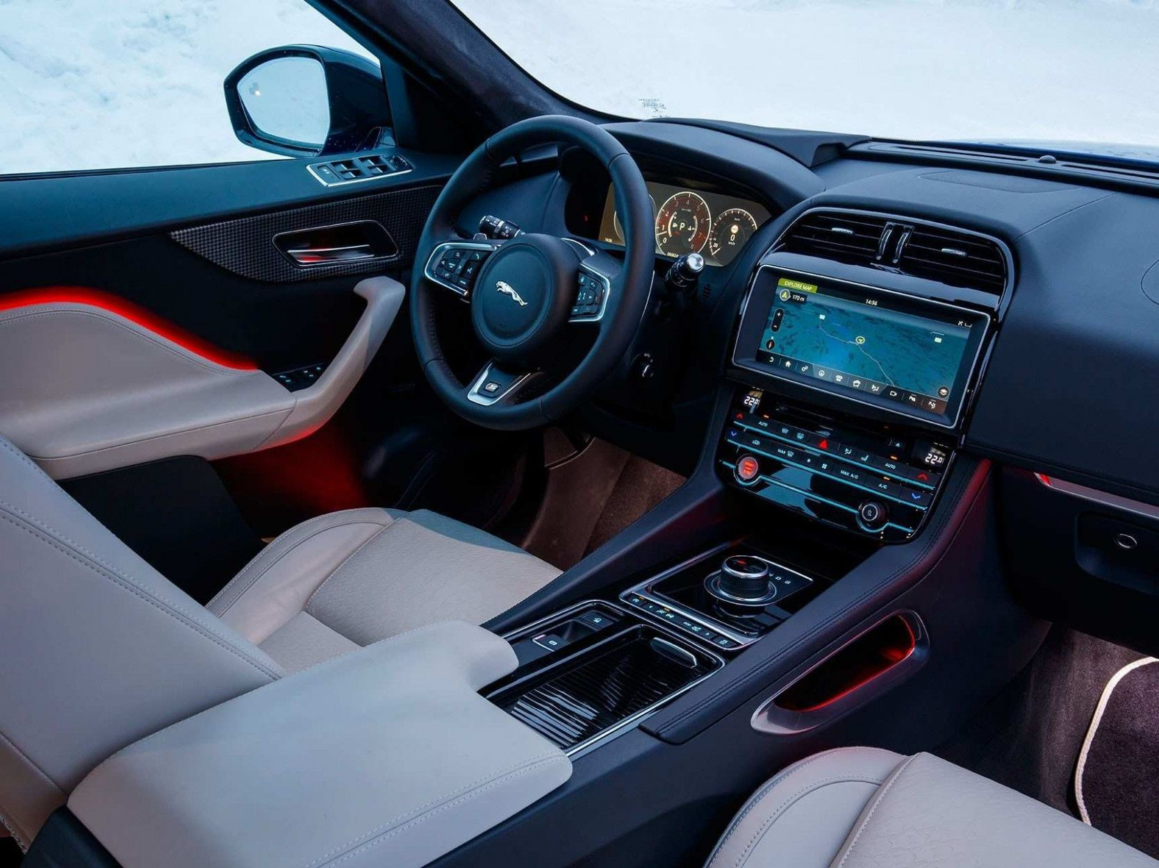 2020 Jaguar F Pace Interior Reviews 2020 Car Reviews Jaguar Suv Jaguar Suv Interior New Luxury Cars