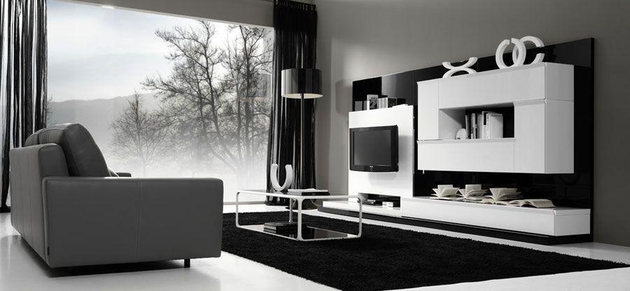 Muebles de salon originales buscar con google salones - Salon moderno blanco ...