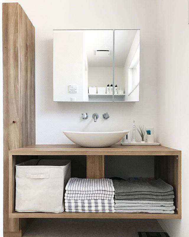 Beautiful Bathroom Color Schemes: サンワカンパニーのある暮らし サンワカンパニー