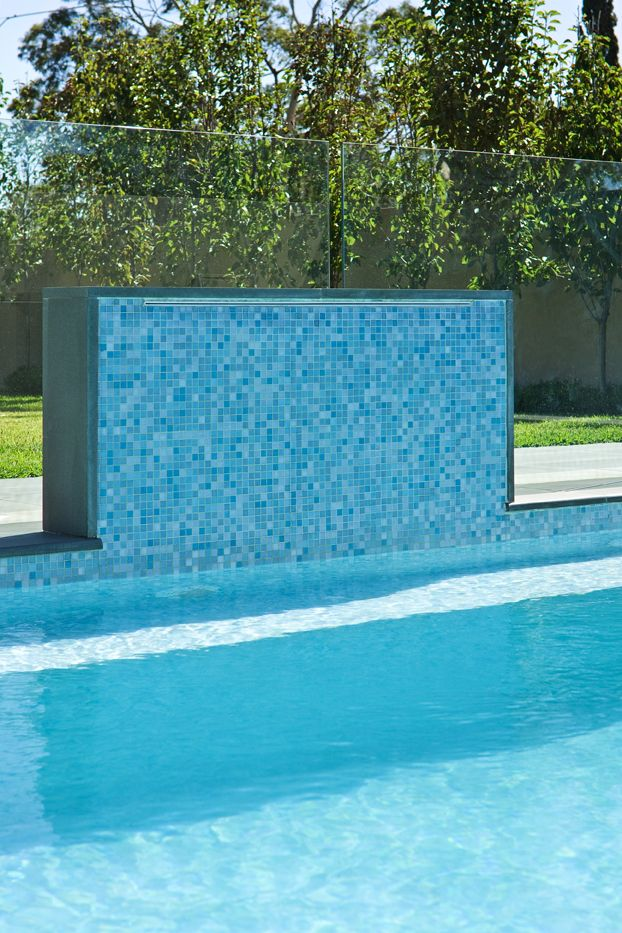 Perini tiles brighton project using bisazza 39 s galapagos for Swimming pool wall tiles
