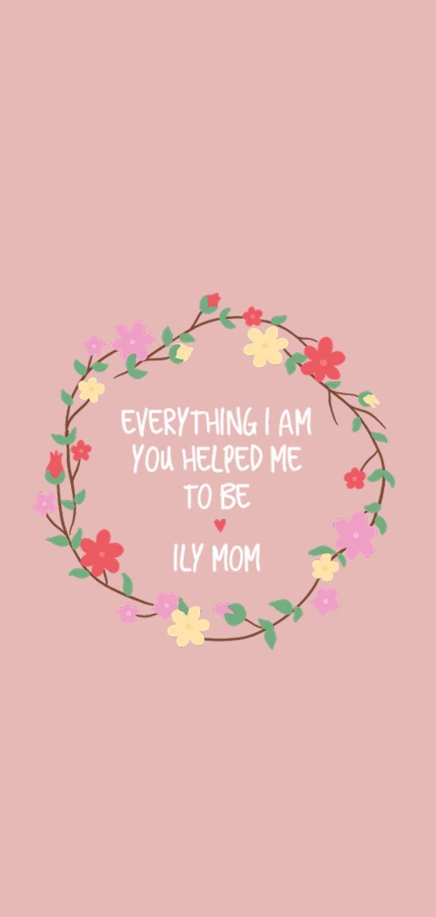Show Some Love To Your Mom It S Her Day Pink Wallpaper Iphone Cute Wallpaper For Phone Mums Wallpaper
