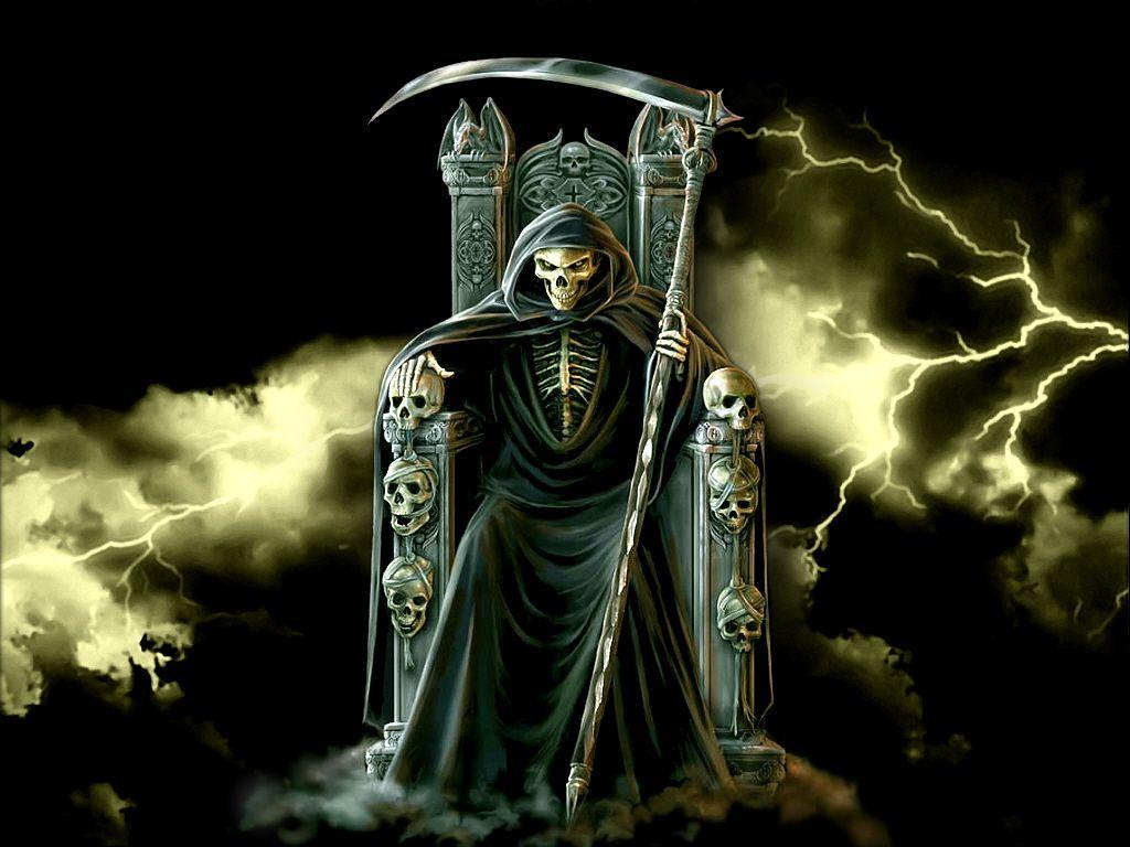 3d Skulls Images Gothic Skulls Wallpaper 12 Grim Reaper Pictures Grim Reaper Grim Reaper Drawing