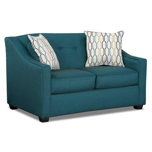 Leona Pea Teal Loveseat P1 5442 297 American Furniture Warehouse