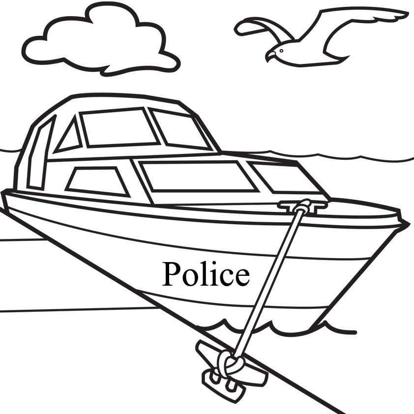 Boat Coloring Page Free Printable Coloring Sheets For Kids Coloring Pages For Boys Coloring Pages Coloring Sheets For Kids