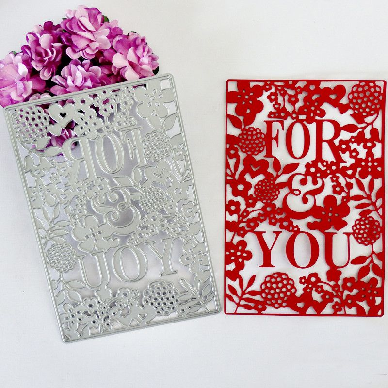 Flower Metal Cutting Dies For DIY Scrapbooking Card Paper Album  BB