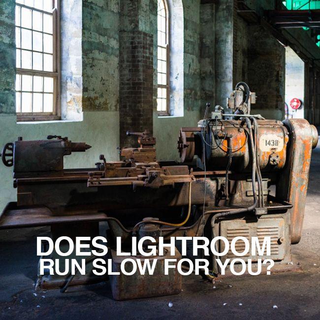 Lightroom very slow