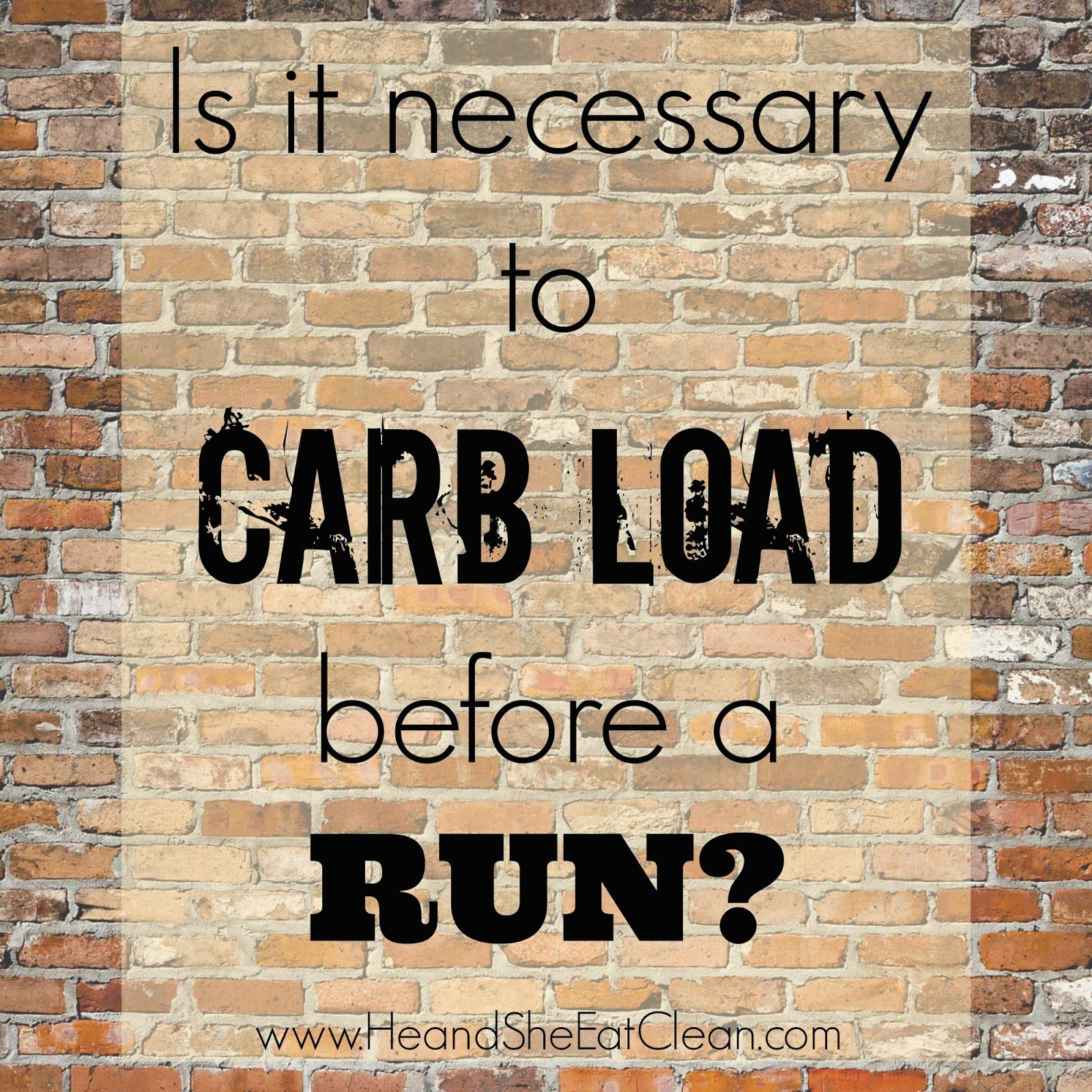 What to Eat Before & After Your Run! Plus, is Carb Loading