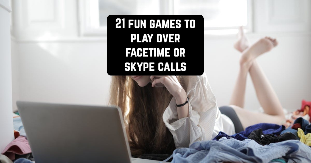 21 Fun games to play over Facetime or Skype calls in 2020
