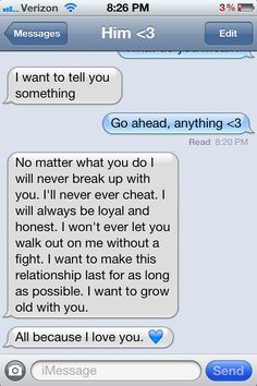Sweet Traits To Say To A Guy In A Text