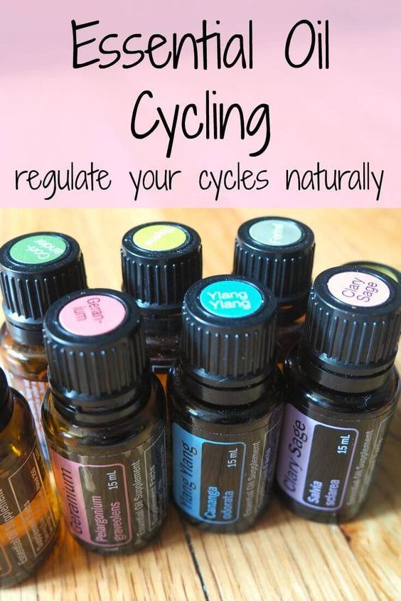 Essential Oil Cycling for Hormone Support