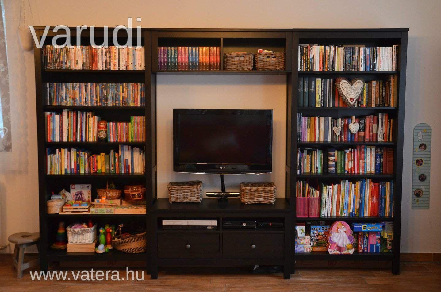 110 az egész Ikea Hemnes fekete-barna nappali bútor - Vatera.hu ...