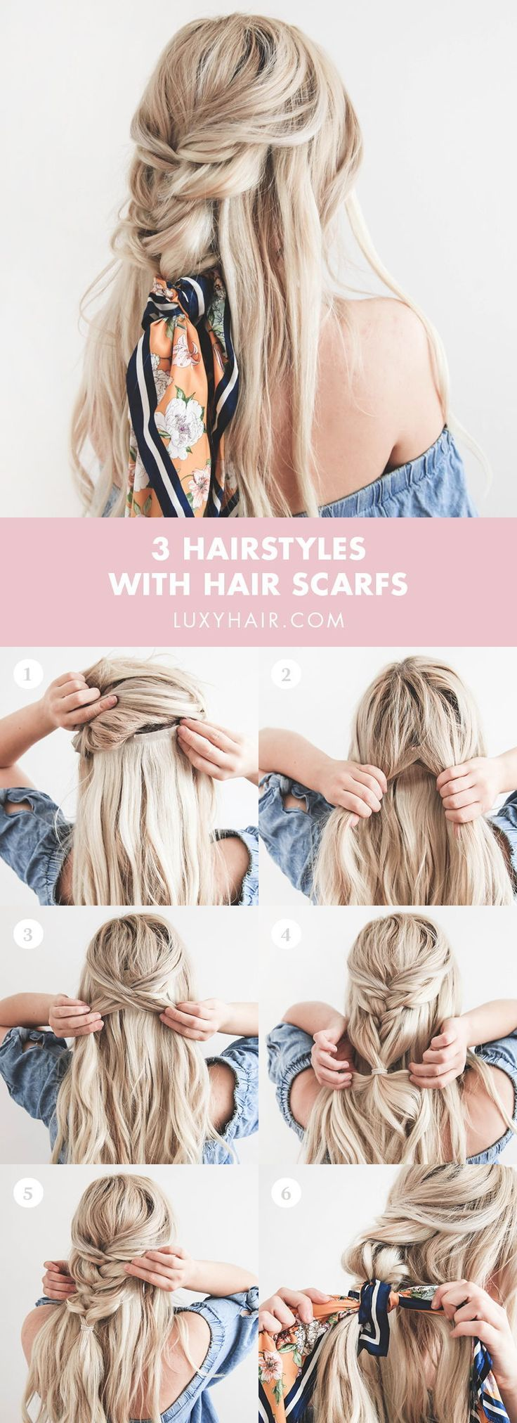 Photo of Summer Hairstyles With Headscarves