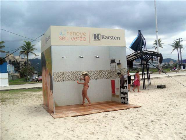 Cenografia Karsten Renove seu Verão - Cenografia Praia - Tudo Produções