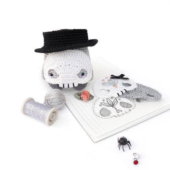 lalylala HALLOWEEN patrón de crochet Frankenstein por lalylala ...