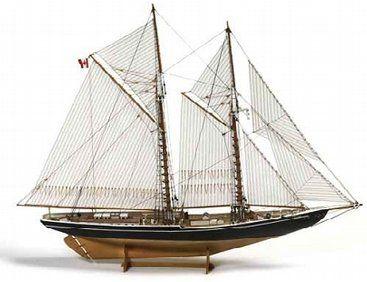 The 1 100 Billings Bluenose Ii Wooden Ship Model
