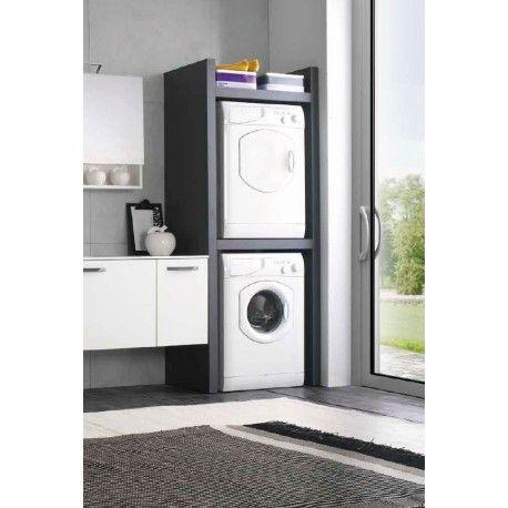 Mobile lavatrice e asciugatrice sovrapposte bagno - Mobile per lavatrice ikea ...