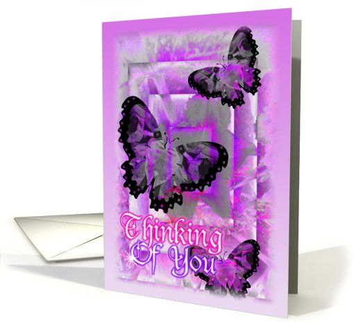 Thinking of you butterflies card drug store thinking of you and drugs thinking of you butterflies card 661786 buy customized greeting cards online pickup at m4hsunfo