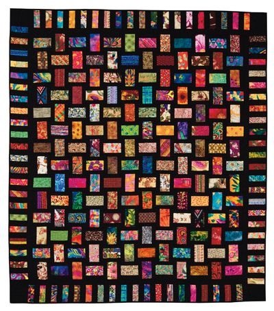 "10 2.5/"" Pre Cut Jelly Roll Quilt Quilting Strips 100/% Cotton Kaleidoscope Batik"