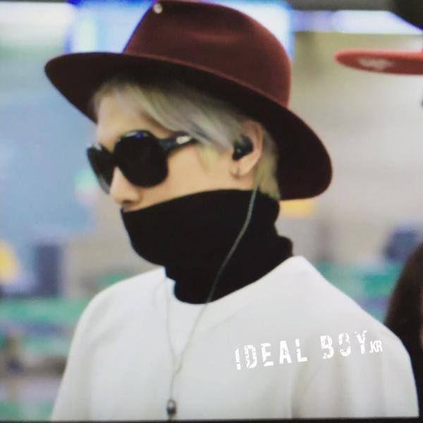 150418 SHINee Jonghyun - Incheon Airport to Thailand