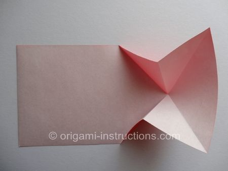 Origami Blossom Heart Step 4