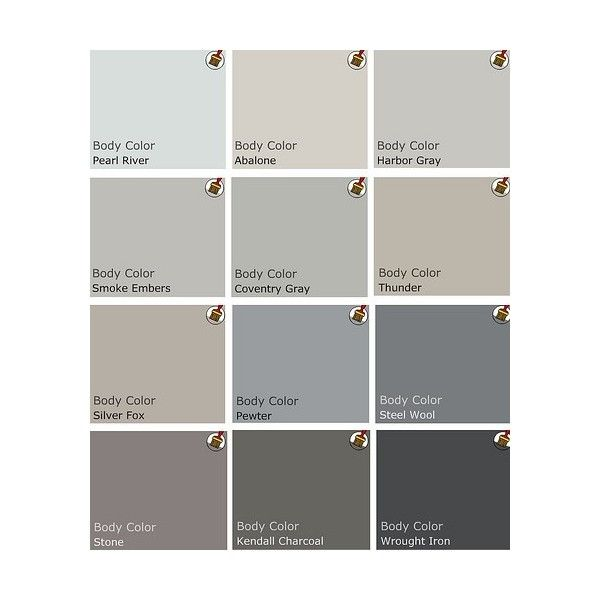 Calming Colors That Will Perfect Your Home: Gray / Benjamin Moore Top Picks For Gray