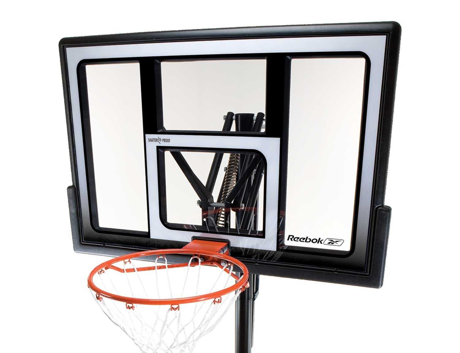 reputable site 6552c 6bfab 1532 Lifetime Portable Basketball System (Reebok) - Features a 48
