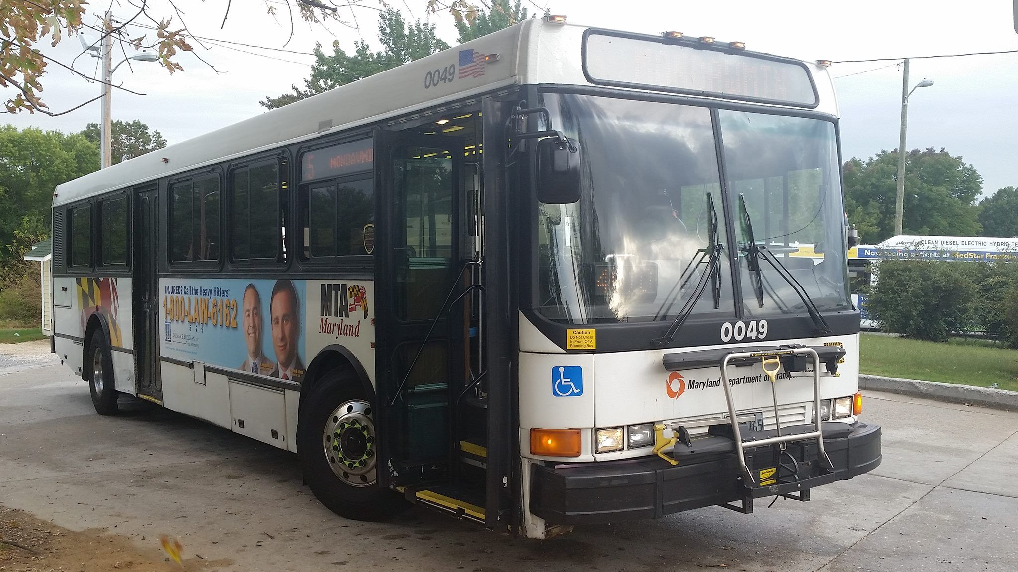 Mta Maryland Nabi With Images Mta Maryland New Bus Bus