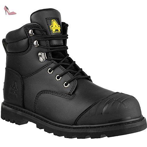 Amblers Safety FS006C Black - Chaussures Chaussures de travail