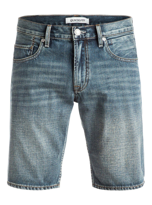quiksilver, Sequel Vintage Cracked - Shorts de denim, VINTAGE CRACKED (bqkw)