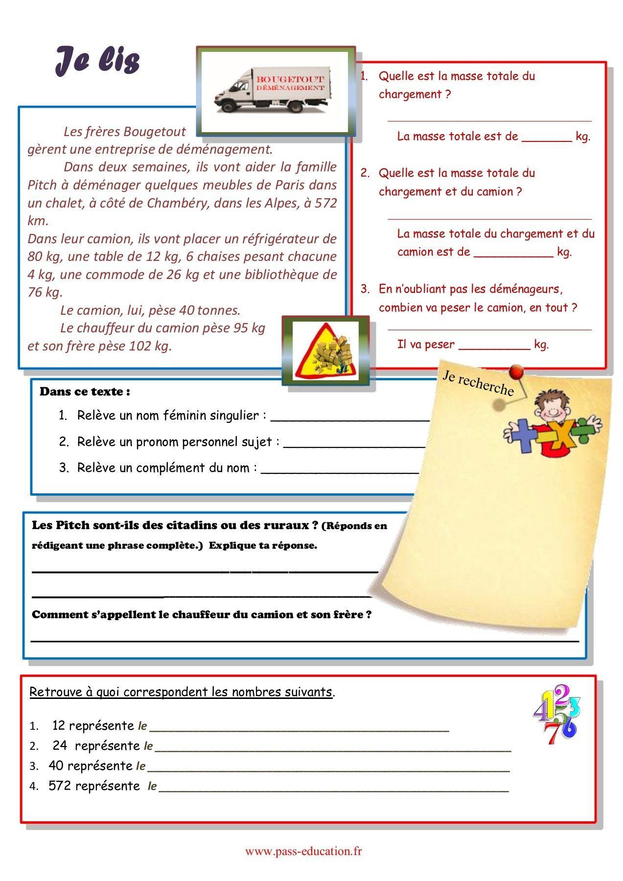 Cahier de vacances gratuit à imprimer - CM1 vers le CM2 - Juillet en 2020 | Cahier de vacances ...