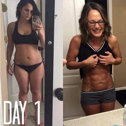 #transformationtuesday Der heutige Ruf geht an Tiffany und ihre unglaubliche ...   - Fitness Transfo...
